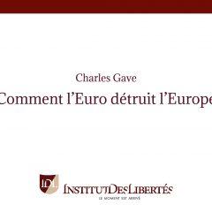 Comment l'Euro détruit L'Europe